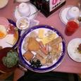 バイキングの朝食